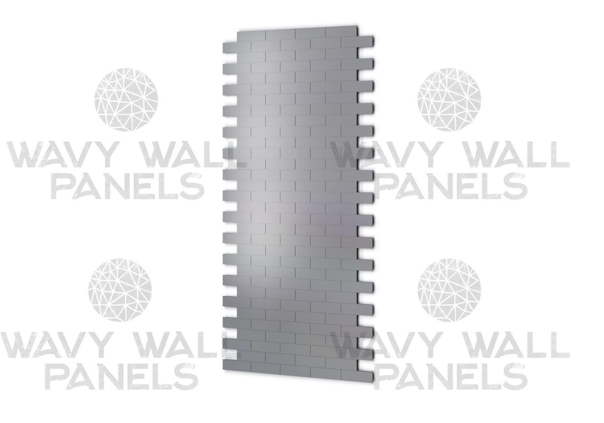 Brick/Tile V3 Connector MDF Wall Panel.