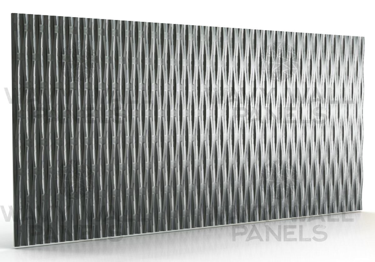 T8012 Large Linear Wave MDF Wall Panel