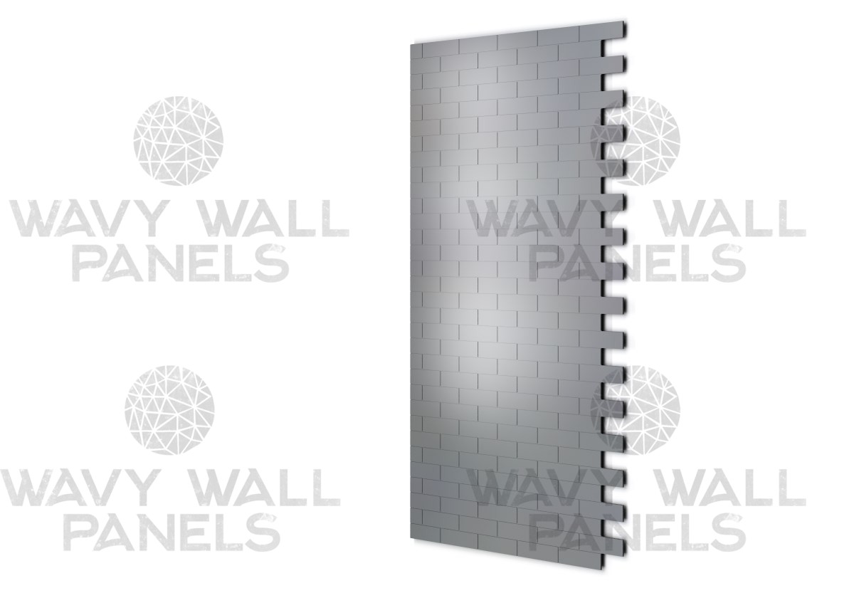Brick/Tile V3 End MDF Wall Panel.