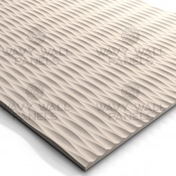 T3900 Linear Wave MDF Wall Panel