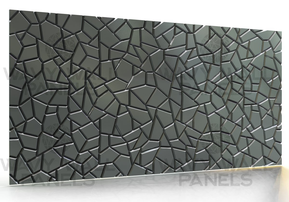 T8044 Cracked MDF Wall Panel