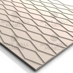 T8001 Diamond Wave MDF Wall Panel