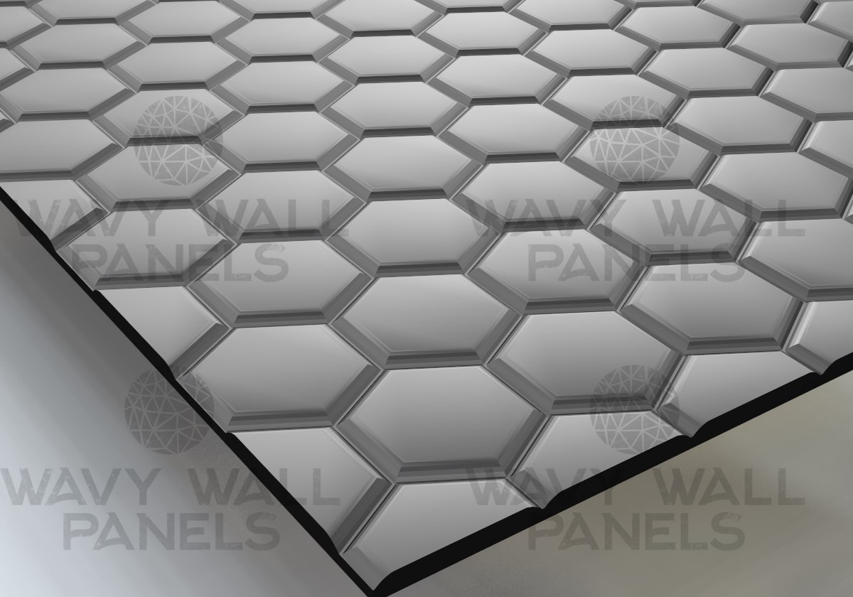 T8006  Honeycomb R1 MDF Wall Panel