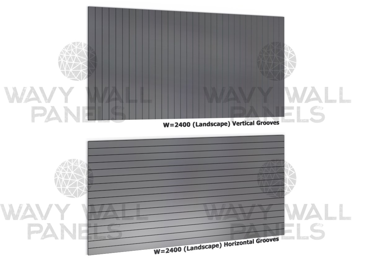 V-Groove Wall Panel 2.4m x 1.2m