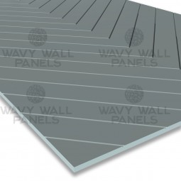V-Groove Diagonal Wall Panel 2.4m x 1.2m