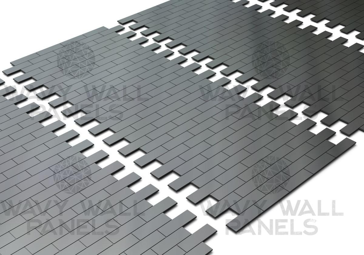 Brick Tile V3 End Mdf Wall Panel